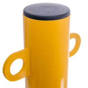 gelb/schwarz Kopf