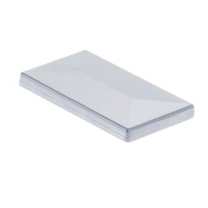 Aluminium Pfosten Kappe Alu Natur