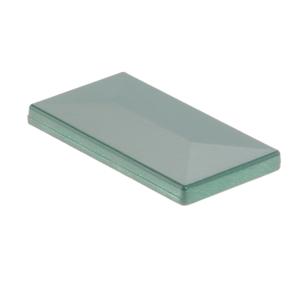 Aluminium Pfosten Kappe moosgrün