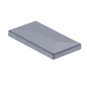 Aluminium Pfosten Kappe anthrazit