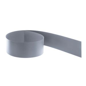Guck Nich® Sichtschutz Hart PVC Streifen hellgrau